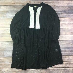{ModCloth} Tuxedo Top Dress Sz 1X